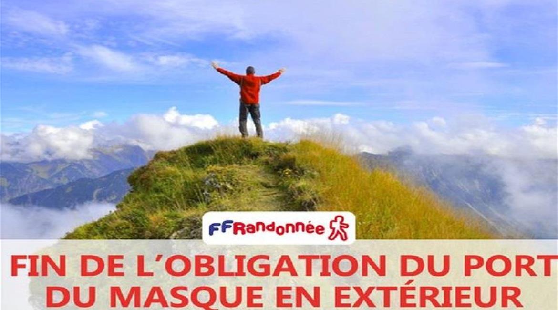 Plan de reprise des activités de randonnée en France à compter du 3 mai 2021