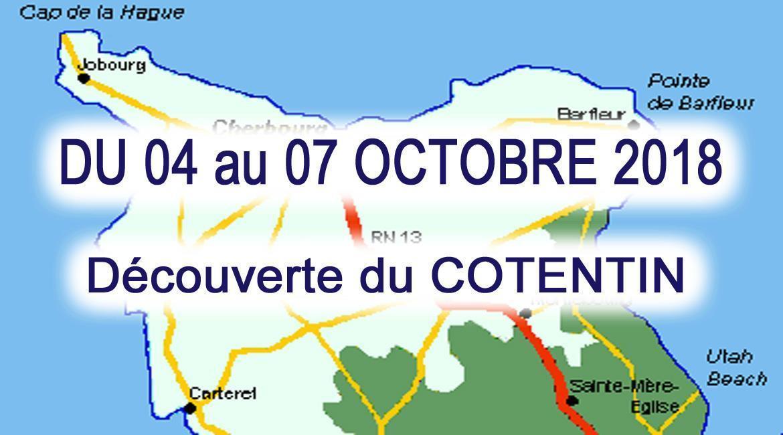 MAINE-ET-LOIRE: Découverte du Cotentin