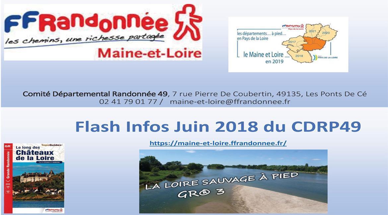 MAINE-ET-LOIRE: Flash INFO de juin