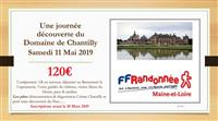 MAINE-ET-LOIRE: JOURNEE A CHANTILLY