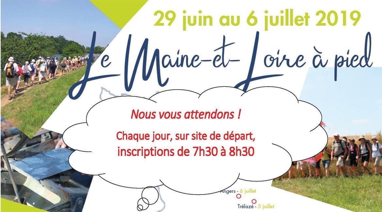 MAINE-ET-LOIRE: Maine et Loire à Pied 2019