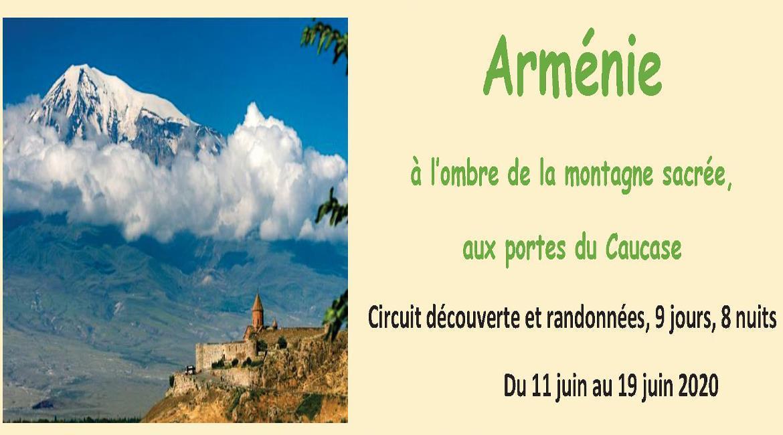 MAINE-ET-LOIRE: Arménie à l'ombre de la montagne sacrée, aux portes du Caucase