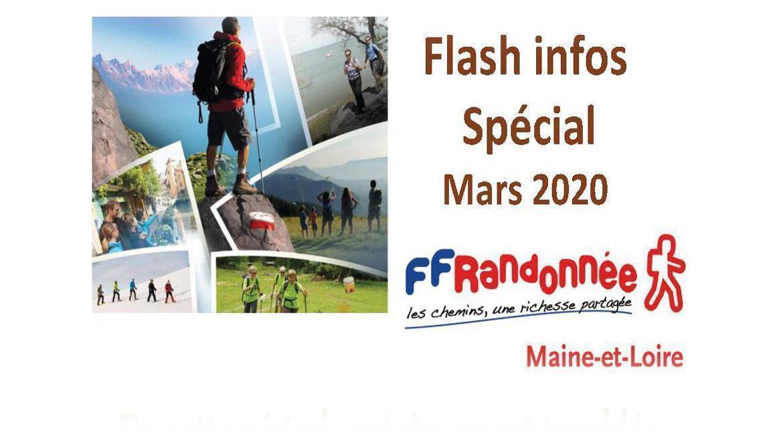 MAINE-ET-LOIRE: Flash Info - Avril 2020