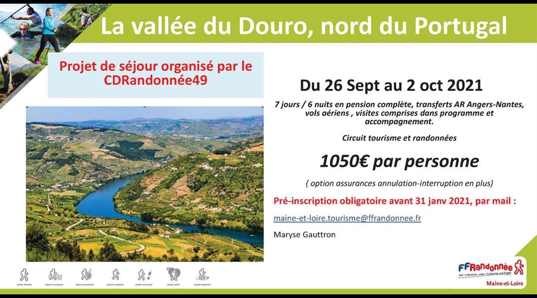 MAINE-ET-LOIRE: La vallée du DOURO - Portugal